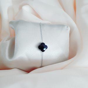 Clover bracelet zilver