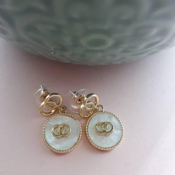 charm drop oorbellen