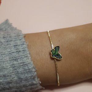 butterly bracelet gold