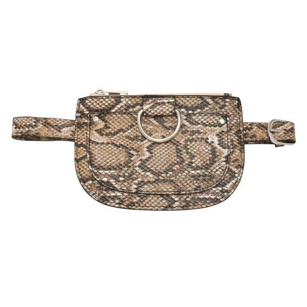 Riemtasje slangenprint