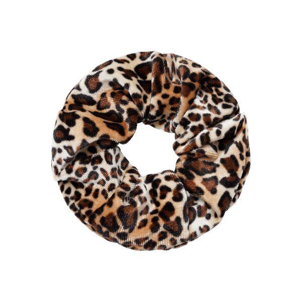 scrunchie velvet animal