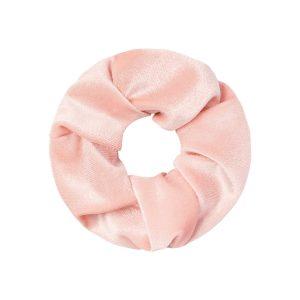 scrunchie sweet velvet roze