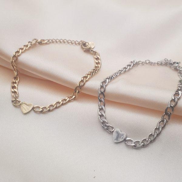 herat chain bracelet