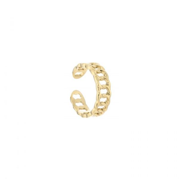 chain ring tiny gold