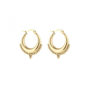bali hoop earrings gold