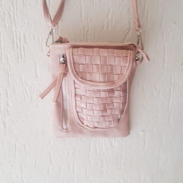 kylie bag pastel roze