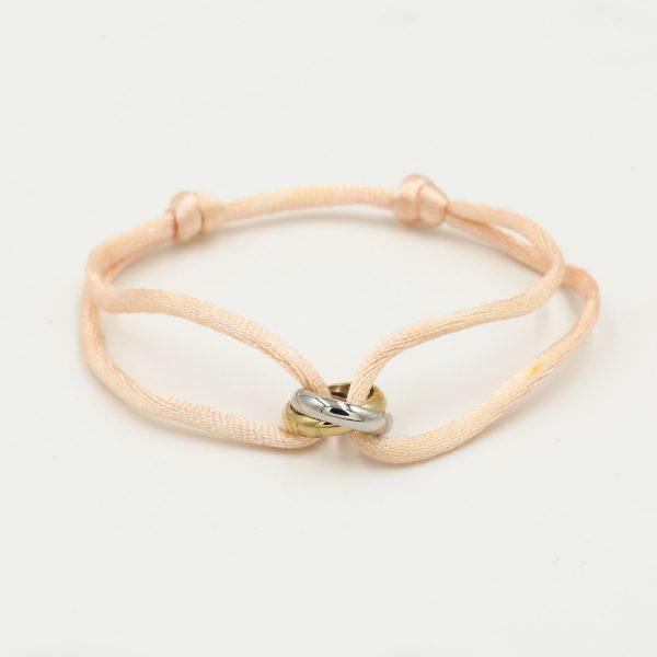 duo ring bracelet cream