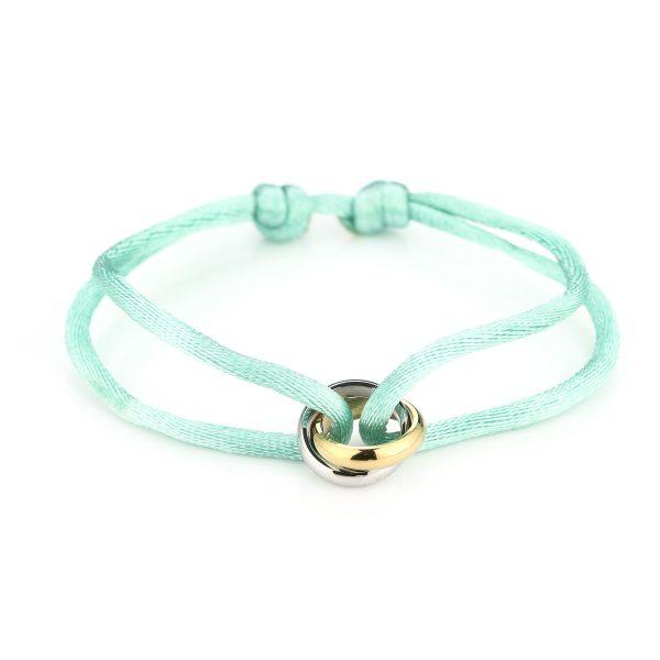 duo ring bracelet mint