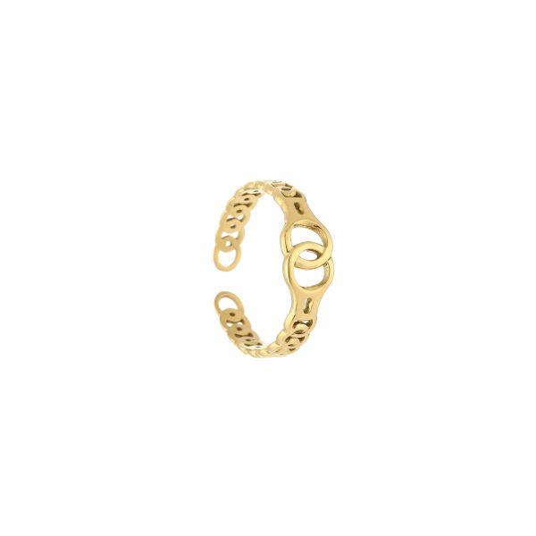 locked ring gold