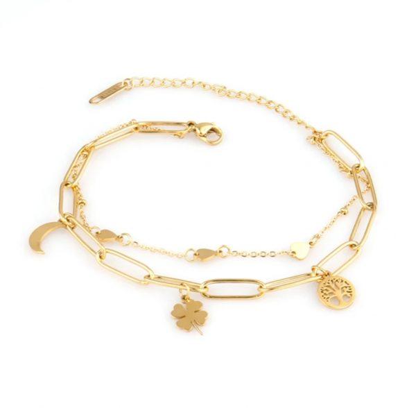 Charm Bracelet gold