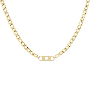 love chain necklace gold