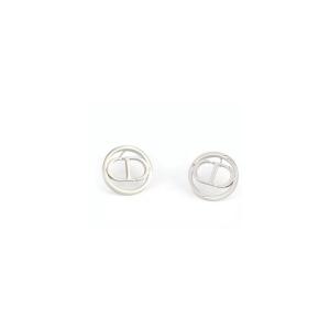 CD Earrings Silver