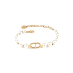 CD Pearl Bracelet gold