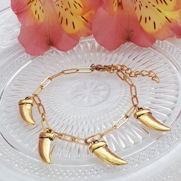 tooth bracelet