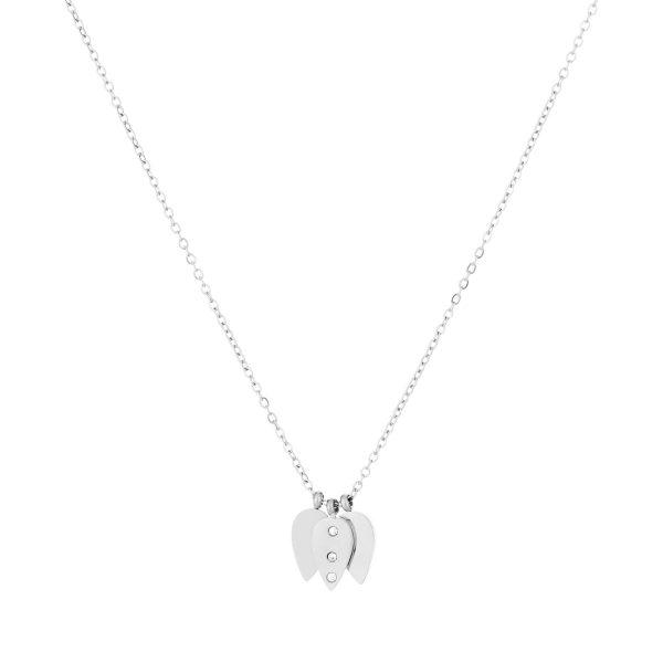 Leaf Necklace silver