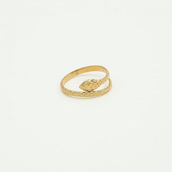 snake ring gold