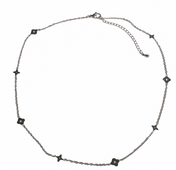 Lv Star necklace silver