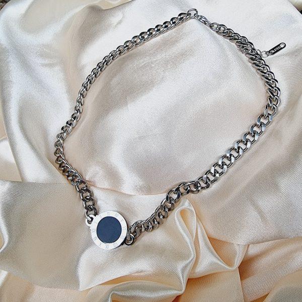 romance necklace silver