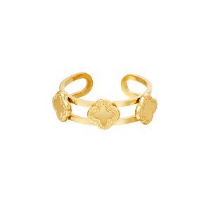 Clover Ring Gold