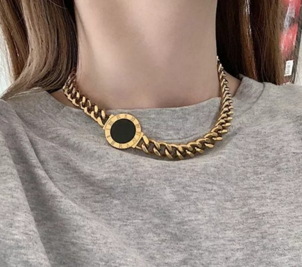 romance necklace gold