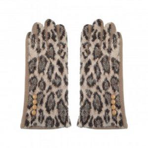 handschoenen leopard