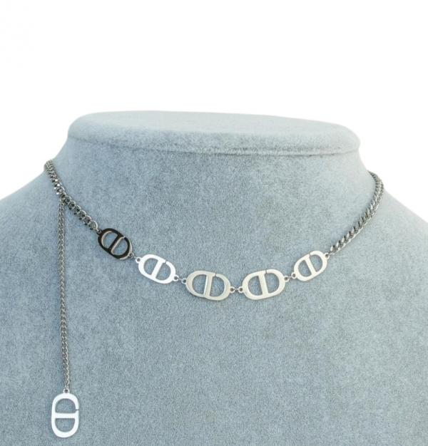 celine necklace silver