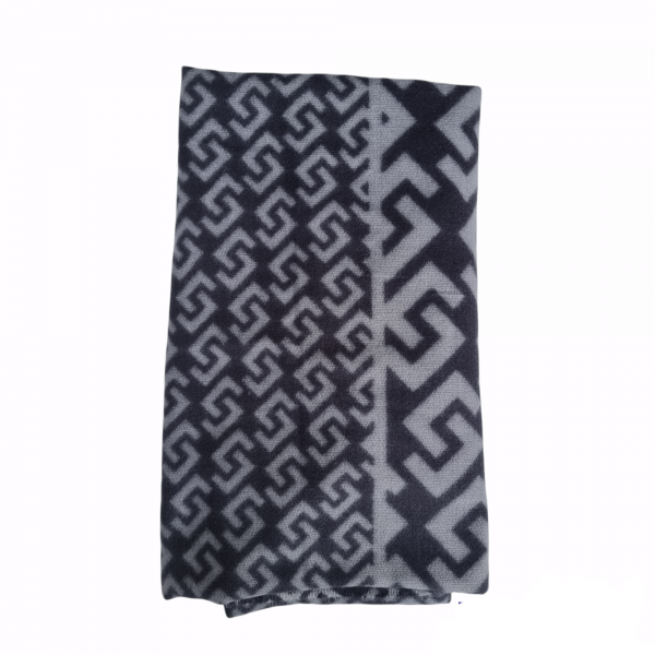 sjaal aztec grey